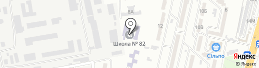 Ириданс на карте Одессы