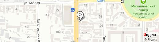 Normal STO на карте Одессы