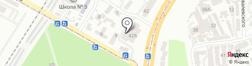 Автошкола №1 на карте Одессы