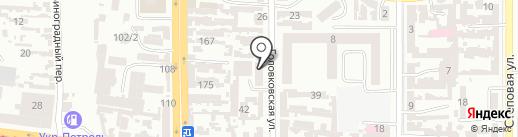 Курьерская служба доставки на карте Одессы