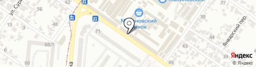 Мастерская на карте Одессы