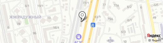 RS на карте Одессы