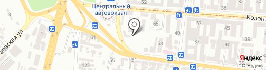 Малярно-рихтовочный сервис на карте Одессы