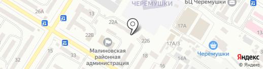 Теплые окна на карте Одессы