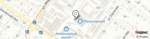 Магазин теплых полов и кондиционеров на карте Одессы