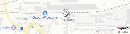 Дисконт на карте Одессы
