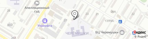Зенит на карте Одессы