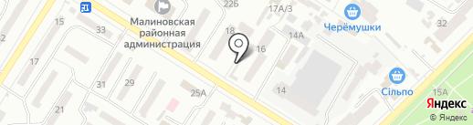 Магазин мобильных аксессуаров на карте Одессы