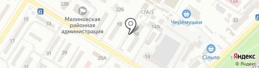 Многопрофильный центр на карте Одессы