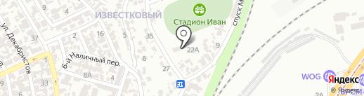 Иван на карте Одессы