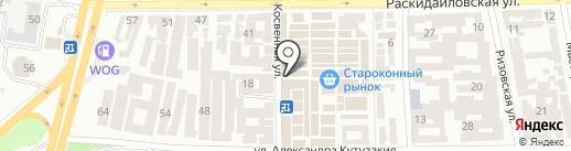 Магазин отделочных материалов на карте Одессы