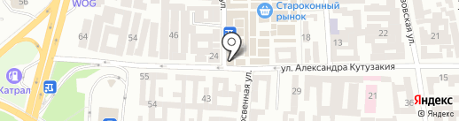 Color-City на карте Одессы