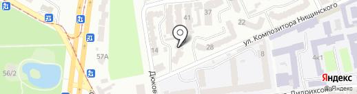 Йога в центре на карте Одессы