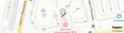 Zooshop FOX на карте Одессы
