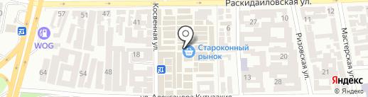 Пол дома на карте Одессы