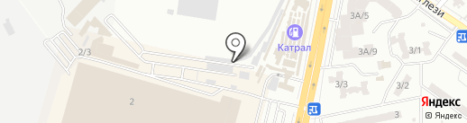 Успех-Престиж на карте Одессы