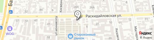 ТОП. ПРОЕКТ на карте Одессы