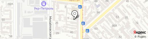 Солярис на карте Одессы