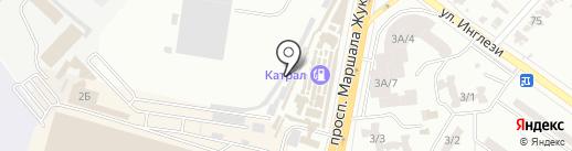 Avtoparts на карте Одессы