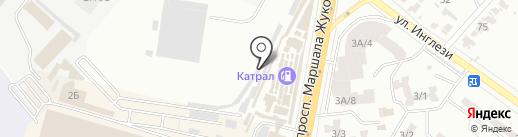 Автогост на карте Одессы