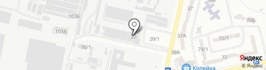 SVS на карте Одессы