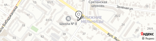 ДЮСШ №11 по футболу на карте Одессы