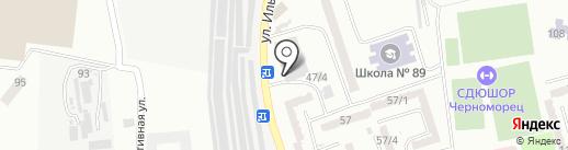 Авто-детейлинг на карте Одессы