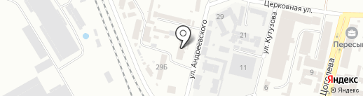 Тера Пласт на карте Одессы