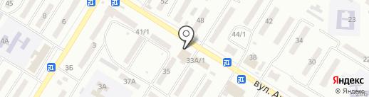 GasBar на карте Одессы