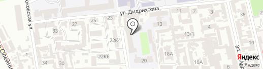 Одесская морская академия на карте Одессы