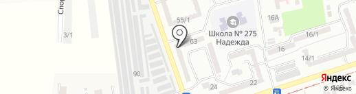 Infinity на карте Одессы