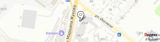 BELLINI на карте Одессы