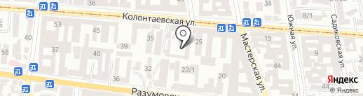 СВ Альтера Юг на карте Одессы