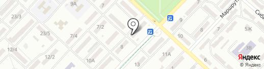 Техспутник на карте Одессы