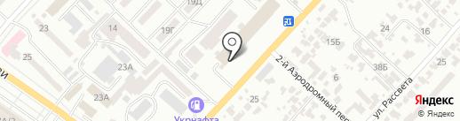 Столовая на карте Одессы