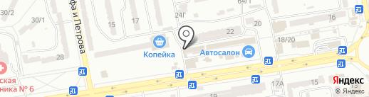Солодощі на карте Одессы
