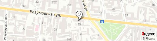 Brand на карте Одессы