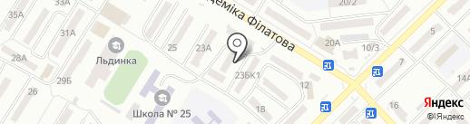 Отдел контроля за оборотом оружия в сфере разрешительной системы Управления превентивной деятельности на карте Одессы