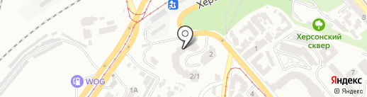 Slope на карте Одессы