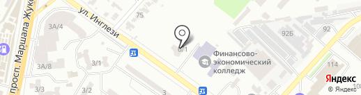 El Dorado на карте Одессы
