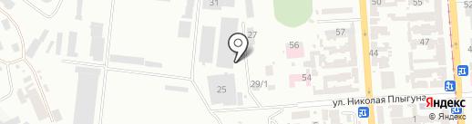 Фура на карте Одессы