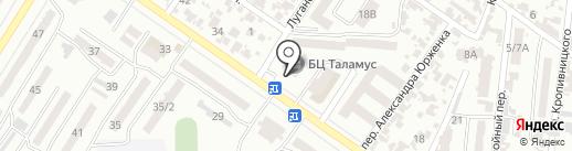 Клуб семейного досуга на карте Одессы