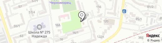 Кабинет врача-гинеколога Сыновец Н.Л. на карте Одессы