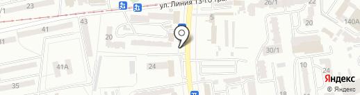 Шаурма на карте Одессы