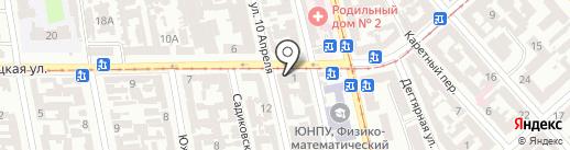 ECLAT beauty lab на карте Одессы