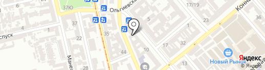 ЭЛЬБА ТРЕВЕЛ на карте Одессы