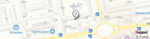 Фармацевт Копейкин на карте Одессы