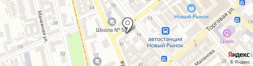 Здорово на карте Одессы