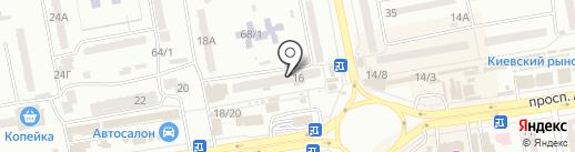 Ломбард Приват, ПО на карте Одессы