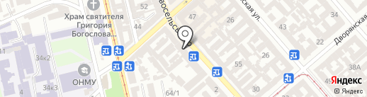 Ліан на карте Одессы